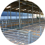 Agricultural Sheds - BHC Structural Steelwork Fabrication
