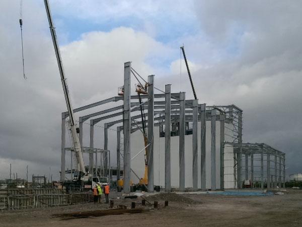 Argent Energy, Ellesmere Port - BHC Structural Steelwork