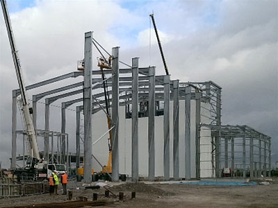 Argent Energy, Ellesmere Port - BHC Structural Steelwork