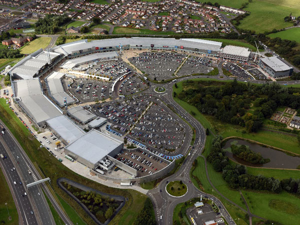 Glasgow Fort Retail Park - BHC Structural Steelwork
