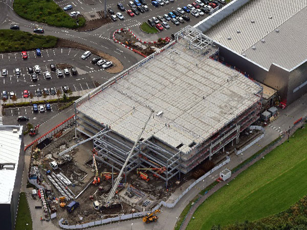 Glasgow Fort Car Park - BHC Structural Steelwork