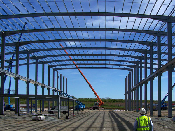 Goodrich Aircraft Maintenance Facility, Prestwick - BHC Structural Steelwork Contractor