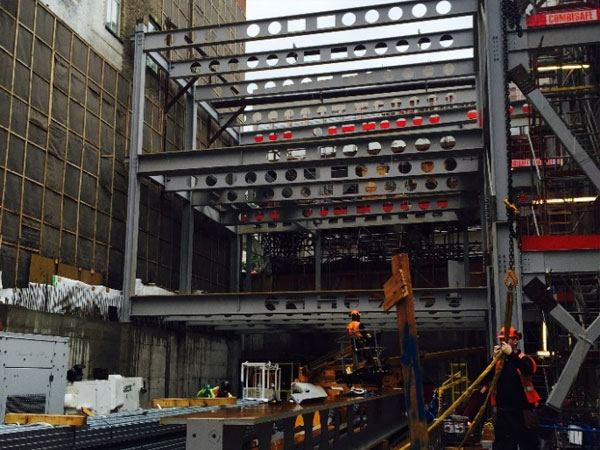 Hanover Square, London - BHC Structural Steelwork Contractor