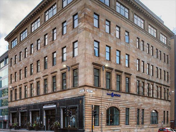 Hotel Indigo, Glasgow - BHC Structural Steelwork Contractor
