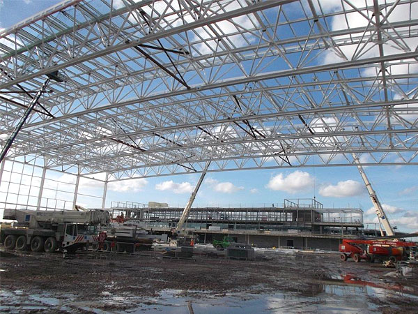 Manchester City FC Training Ground - BHC Structural Steelwork Contractor