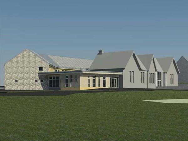 New Lanark Primary School _ BHC Structural Steelwork Contractor