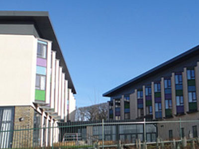 Papdale Halls of Residence, Orkney - BHC Structural Steelwork Contractor