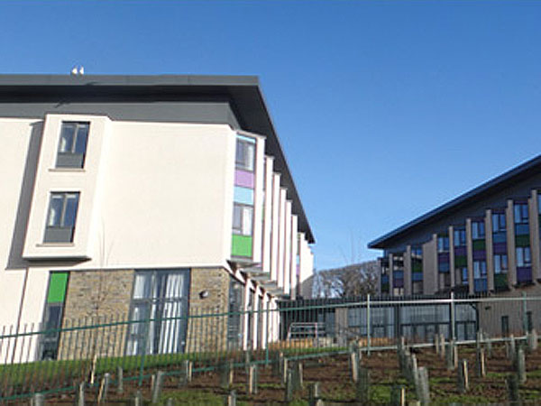 Papdale Halls of Residence, Orkney - BHC Structural Steelwork