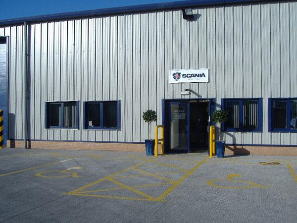 Scania Depot, Grangemouth: BHC Concrete Contractor