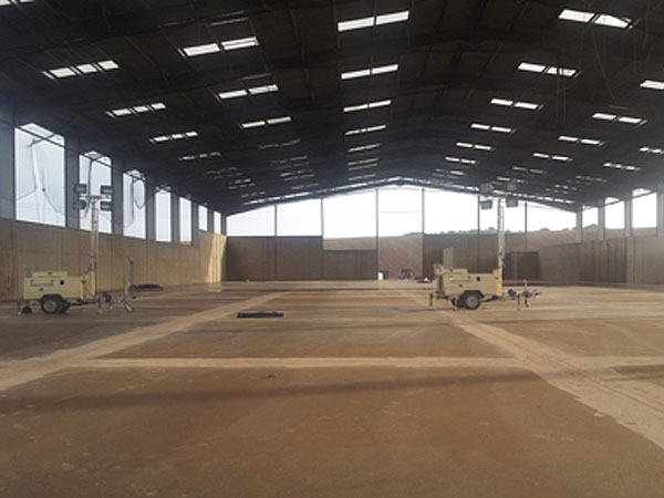 Smeaton Bing Recycling Centre - BHC Structural Steelwork Contractor