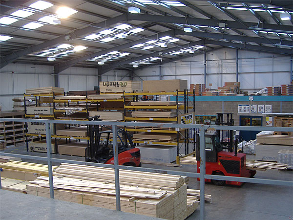 Thornbridge Sawmills, Grangemouth - BHC Structural Steelwork Contractor