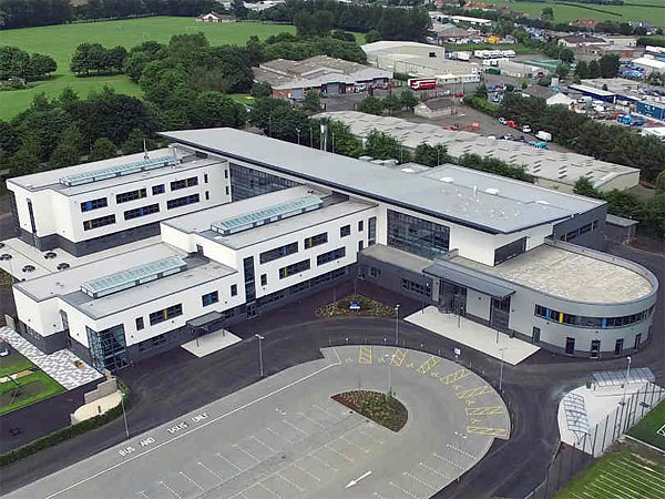 Viewforth High School, Kirkcaldy - BHC Structural Steelwork Contractor