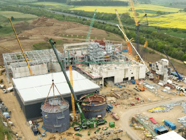 Allerton Waste Recovery Centre - BHC Structural Steelwork Contractor