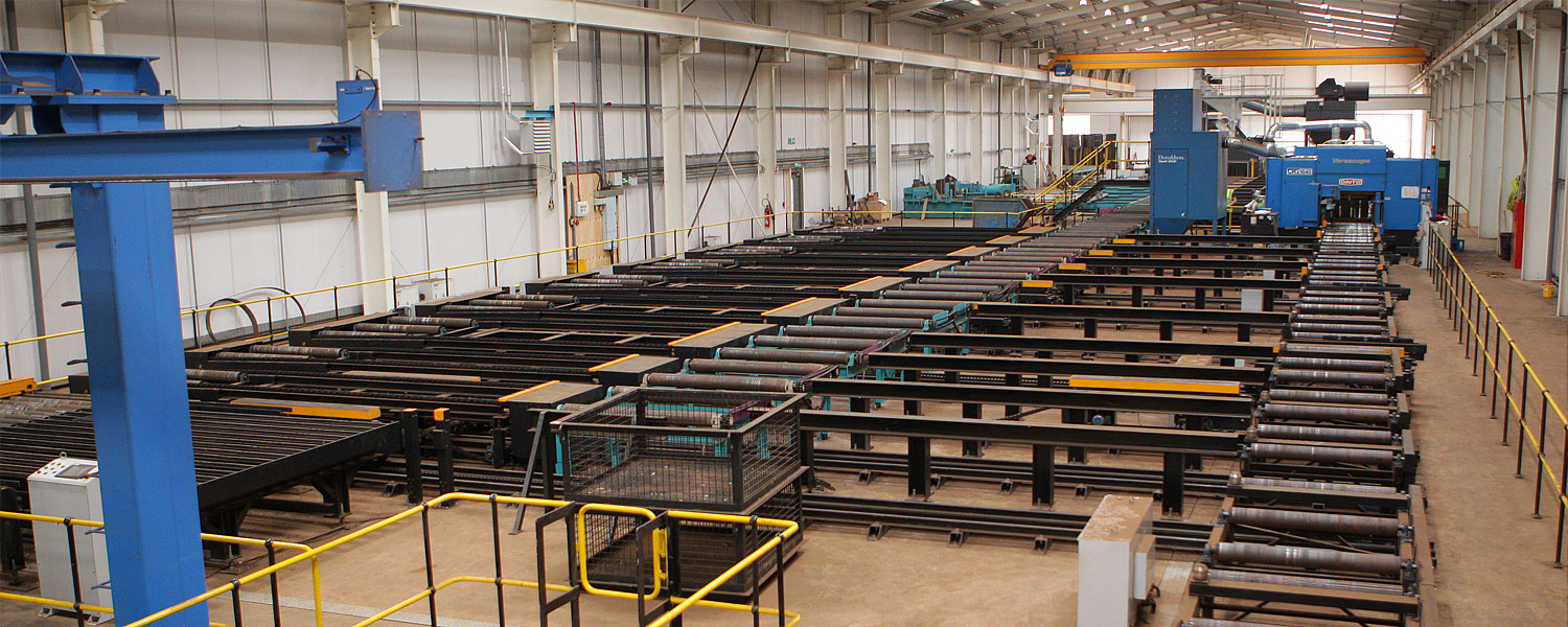 BHC Structural Steelwork Factory