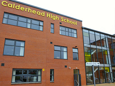 Calderhead High School - BHC Structural Steelwork Contractor