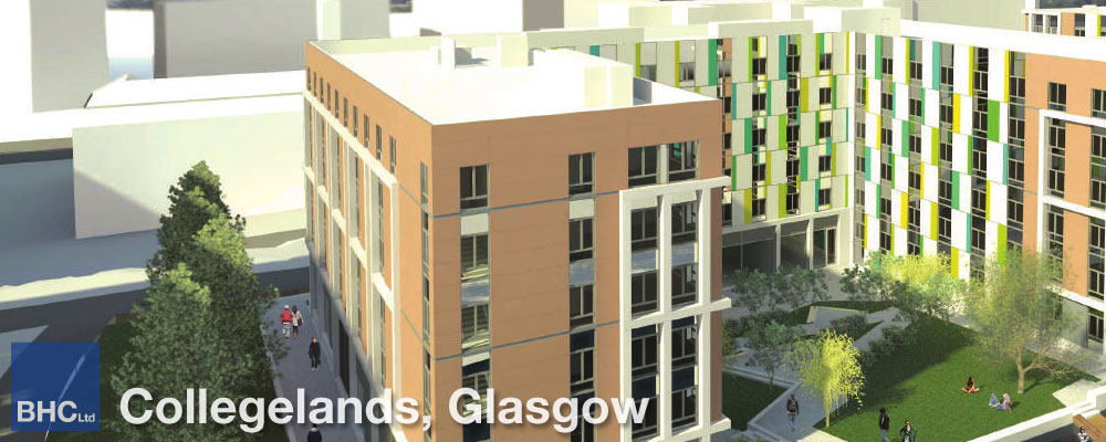 Collegelands, Glasgow - BHC Structural Steelwork Contractor