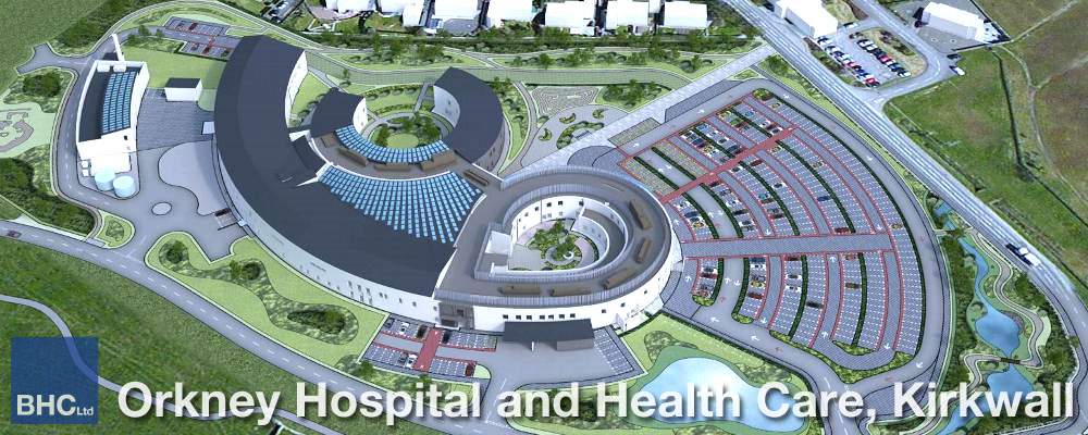 Orkney Hospital and Health Care - BHC Structural Steelwork Contractor