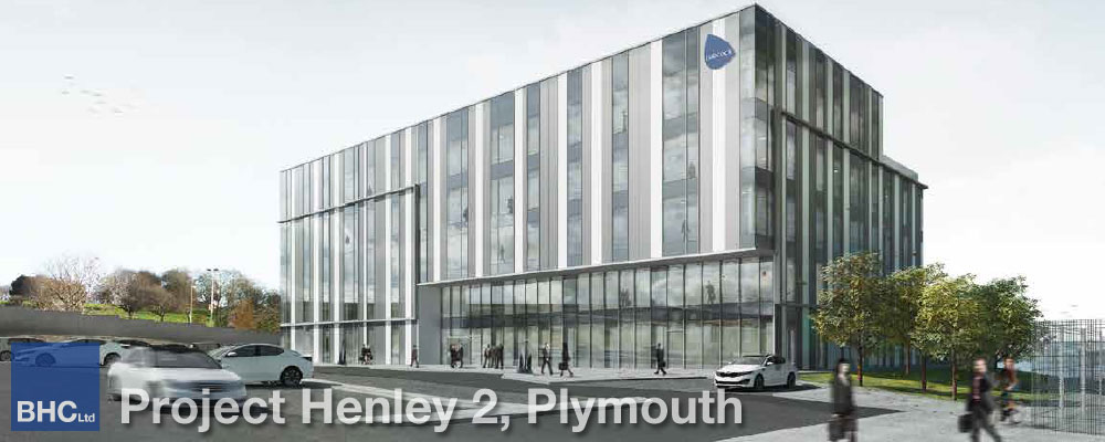 Project Henley 2, Plymouth - BHC Structural Steelwork Contractor