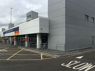 Glasgow Airport Pick-up Drop-off - BHC Concrete Contractor