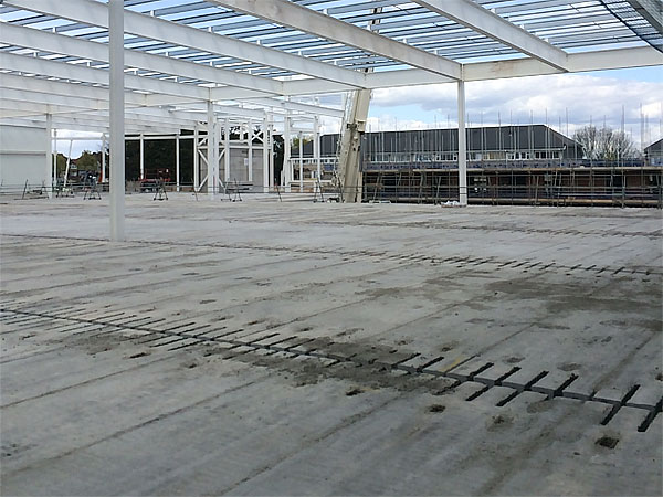 Ruislip Mixed Leisure Development - BHC Structural Steelwork Contractor