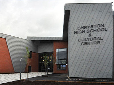 Chryston High School - BHC Structural Steelwork Contractor