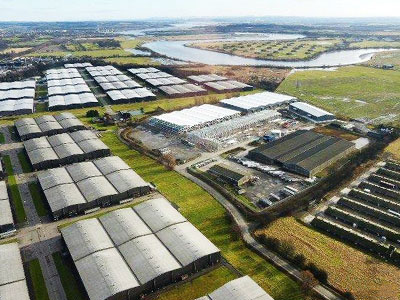 Diageo Bonded Warehouses - BHC Structural Steelwork Contractor
