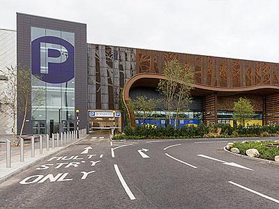 Glasgow Fort Multi-storey Car Park