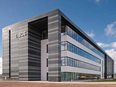 INEOS Headquarters - BHC Structural Steelwork Contractors