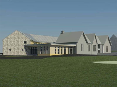 New Lanark Primary School _ BHC Structural Steelwork Contractor