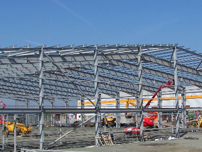 Parcelforce Warehouse, Cambuslang - BHC Structural Steelwork Contractor
