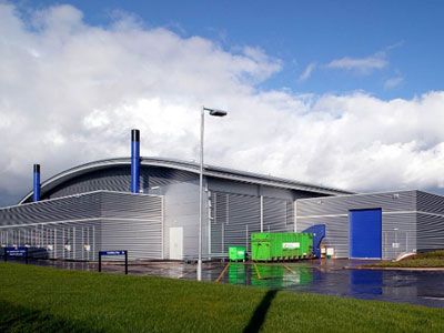 RBS Data Centre - BHC Structural Steelwork Contractor