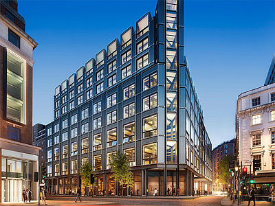 The Post Building, London - BHC Structural Steelwork Contractor
