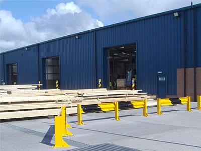 Thornbridge Sawmills, Grangemouth - BHC Structural Steelwork Contractor