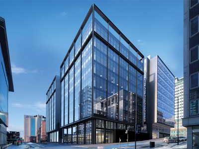 122 Waterloo Street, Glasgow - BHC Structural Steelwork Contractor