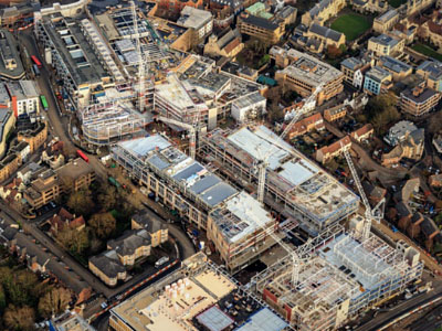 Westgate Centre, Oxford BHC Structural Steelwork Design and Build