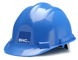 BHC Structural Steelwork Health and Safety - Hard hat