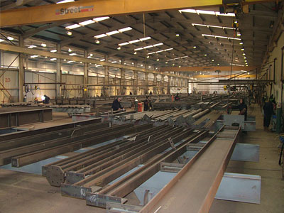 BHC Structural Steelwork Plant - Gallery Image 05