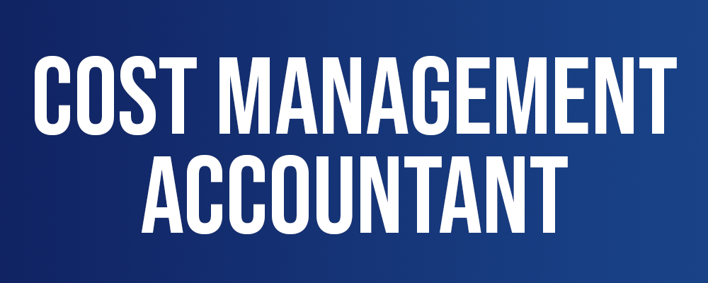 Cost Management Accountant