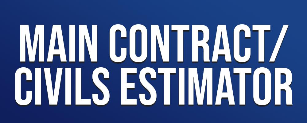Main Contract Civils Estimator