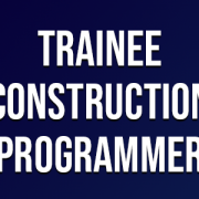 Trainee Construction Programmer