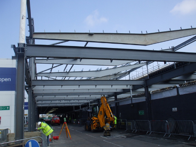 Edinburgh Airport Lounge Extension