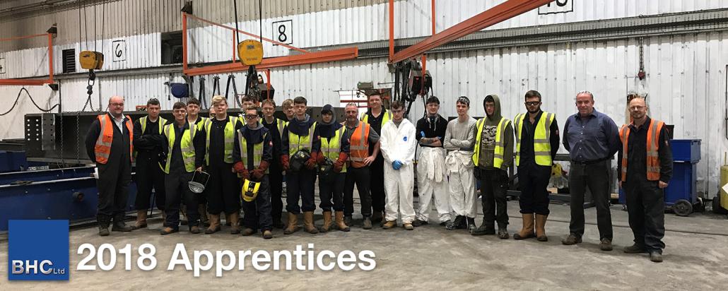 2018 Apprentices
