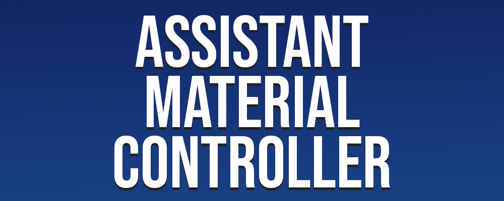 Assistant Material Controller