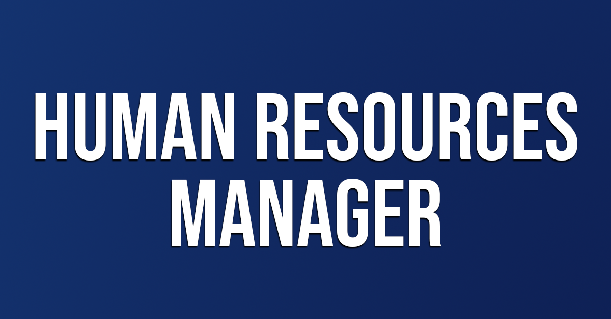Job Opportunity - Human Resource Manager - Vacancy Fulfilled | BHC