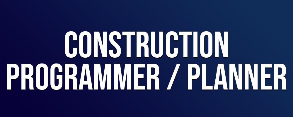 Construction Programmer Planner