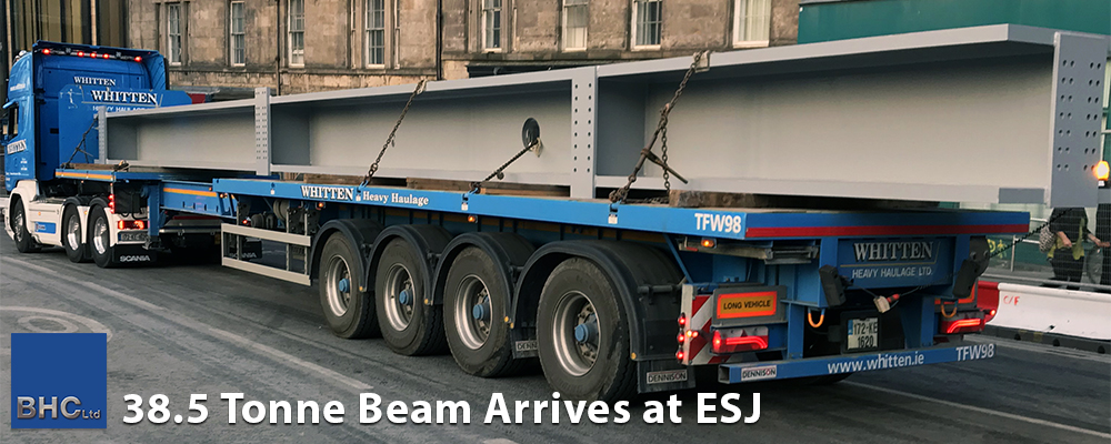 38.5 Tonnes Beam at ESJ