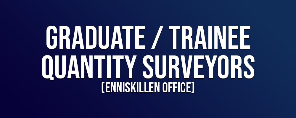 Graduate Trainee Quantity Surveyor Enniskillen
