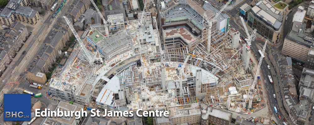 Edinburgh St James Centre - July 19