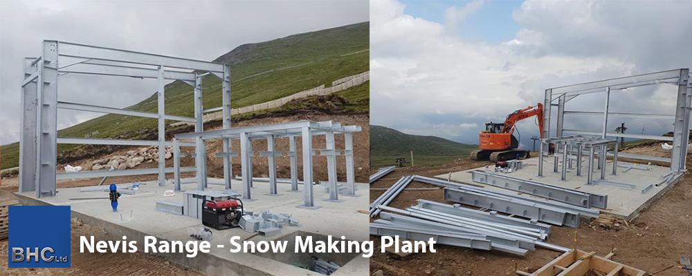 Nevis Range - Snow Making Plant