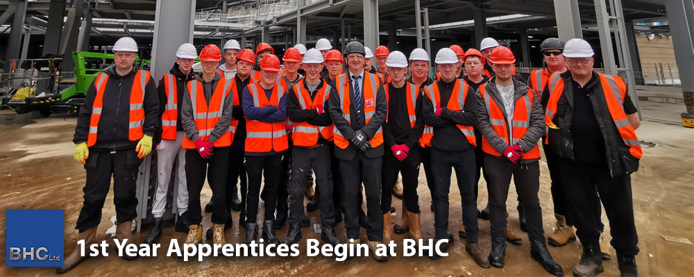 1st Year Apprentices Begin at BHC